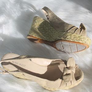 Nine West Peep Toe Sandal
